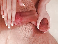 Tube8 Movie:German slut giving slow handjo...