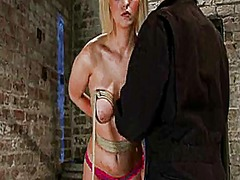 Ah-Me Movie:Sassy cherry torn gets tied up...