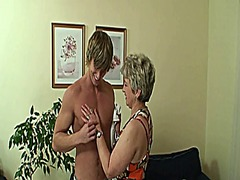 See: Old bitch pleases hot-...