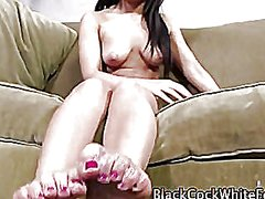 Feet and shoes cummed on