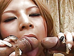 Lusty chick kana kawai... video