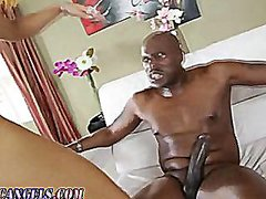 Thumb: Interracial anal stock...