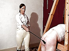 Severely whipped & used