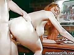 oral, couple, blonde, milf, vaginal, vintage