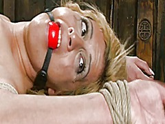 Xhamster Movie:Blond bound and fucked 2 of 2
