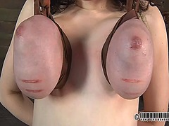 Ah-Me Movie:Punishment for babes nipples