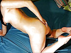 Naked oily footjob & f... preview