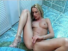 Thumbmail - Horny slut fucks self ...