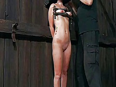 Ah-Me Movie:Muzzled babe needs wild taming