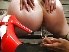 Yobt Movie:Wet ginger has uncovered and b...