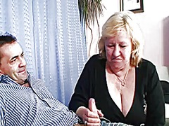 Thumb: Huge grandma pleases t...