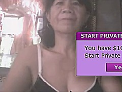 asian, webcam, granny,