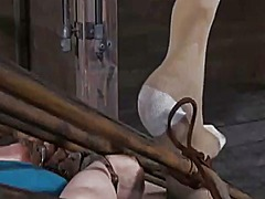 Ah-Me Movie:Facial torture for sweet chick