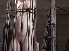 Ah-Me Movie:Titty torture for naughty chick