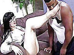 White stockings feet f...
