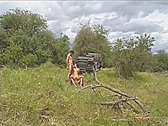 French wife and forest... video