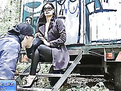 High heels worship in ... video