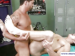 Straight guy getting ass pounded