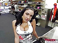 Busty latina sells her... video