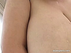 Thumb: Asian bbw with large b...