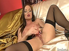 Silvia saint strips do... video