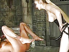 Yobt Movie:Nice black haired has whipped ...