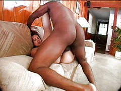 milf, brunette, interracial