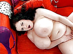 bbw, masturbation, close-up,