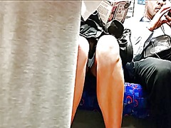 Tube upskirt, hot afte...