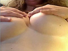 Mature with big tits s... video
