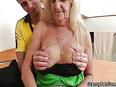 He screws blonde grand... video