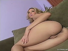 WinPorn Movie:Delightful blonde twat works h...