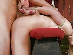 Xhamster Movie:Big breast blond bound and fuc...