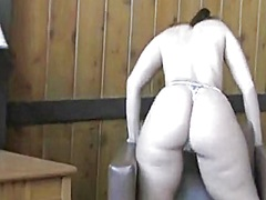 Private Home Clips - Playing with my very s...