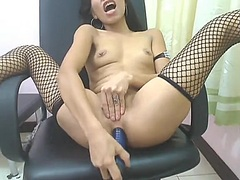 Diminutive Filipina An... video