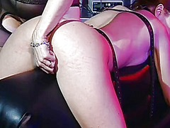 Thumb: Mature mistress enjoys...