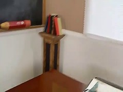 Ah-Me Movie:Redhead gothic teen working ha...