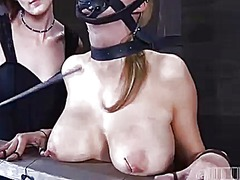 Hung up babe is punished - 05:12