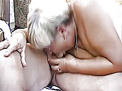 Xhamster - Grandpa and guy fucking chubby grandma outdoors