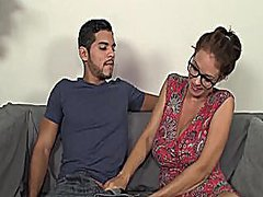 Redtube Movie:Cumblast for the busty milf