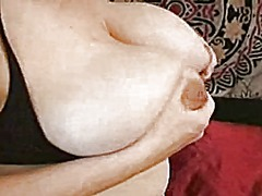 Thumb: Big milking tits