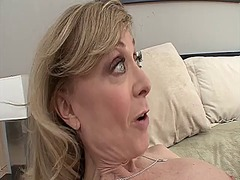 Blonde milf nina hartley a... - 05:00