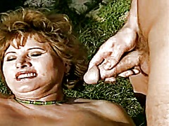 Thumb: Chubby outdoor mature ...