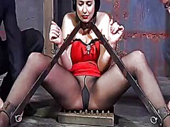 Ah-Me Movie:Useless slut is playing her clits
