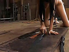Ah-Me Movie:Painful clamping for beautys tits