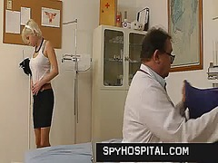gyno, spy, exam, open, fetish, vagina