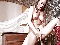 Silvia saint finds herself... - 03:51