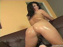 brunette, asian, masturbation