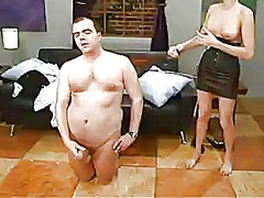 Smut audrey leigh dominates and strapon shaggs an ugly mature dude