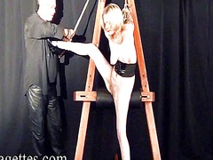Xhamster Movie:Blonde bondage babe weekays su...